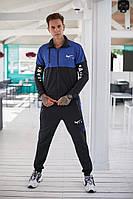 Чоловічий спортивний костюм Nike (3 кольори) РВ/-31281 - Чорний/синій