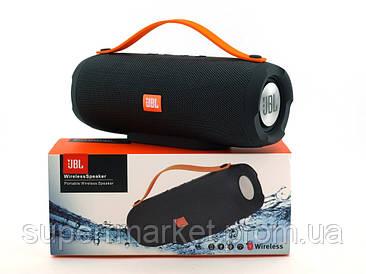 JBL Charge BoomBox E13 10W копия Explorer, блютуз колонка с МП3 и ФМ, черная