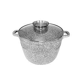 Казан UNIQUE UN-5219 (6.2 л, 24*16.5 см, круглий, Stock Pot )