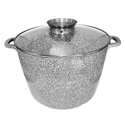 Казан UNIQUE UN-5220 (10л, 28*20см, круглый, Stock Pot), фото 2