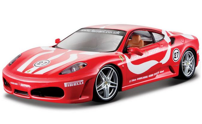 Автомодель Bburago Ferrari F430 Fiorano, фото 2