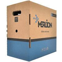 Кабель мережевий Merlion UTP 305м, cat 5e, CU, 4*2*0,50 мм, ПВХ, indoor (КПВ-ВП (100) 4*2*0,50 / 17383)