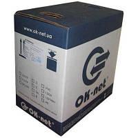 Кабель сетевой OK-Net FTP 500м (КППЭ-ВП (100) 2х2х0,51)