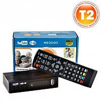 Цифровой тюнер DVB-T2 MEGOGO SMALL с поддержкой wi-fi адаптера