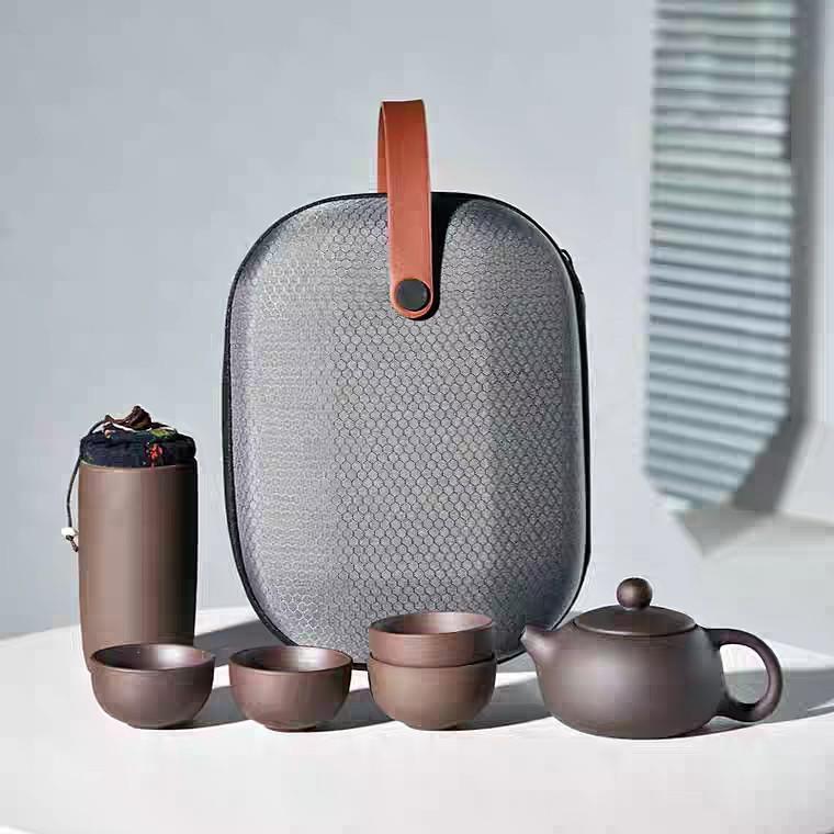 """Чайный набор для чайной церемонии дорожный, портативный """"Премиум"""""""
