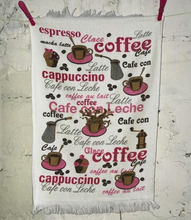 Рушник для кухні Melih Coffee 40*60 см бавовняне арт.ts-01378
