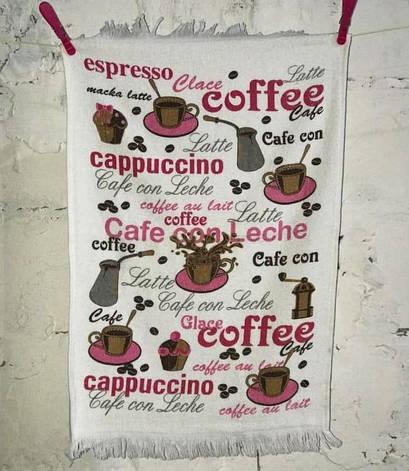 Полотенце для кухни Melih Coffee 40*60 см хлопковое арт.ts-01378, фото 2