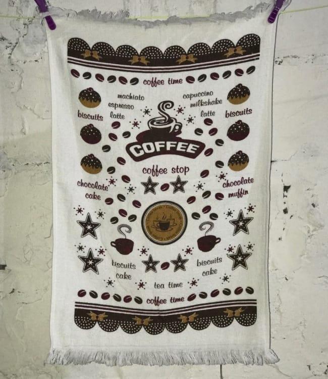 Рушник для кухні Melih Coffee Time 40*60 см бавовняне арт.ts-01369