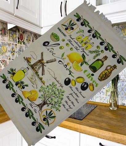 Полотенце для кухни Melih Olives Tree 40*60 см хлопковое арт.ts-01374, фото 2