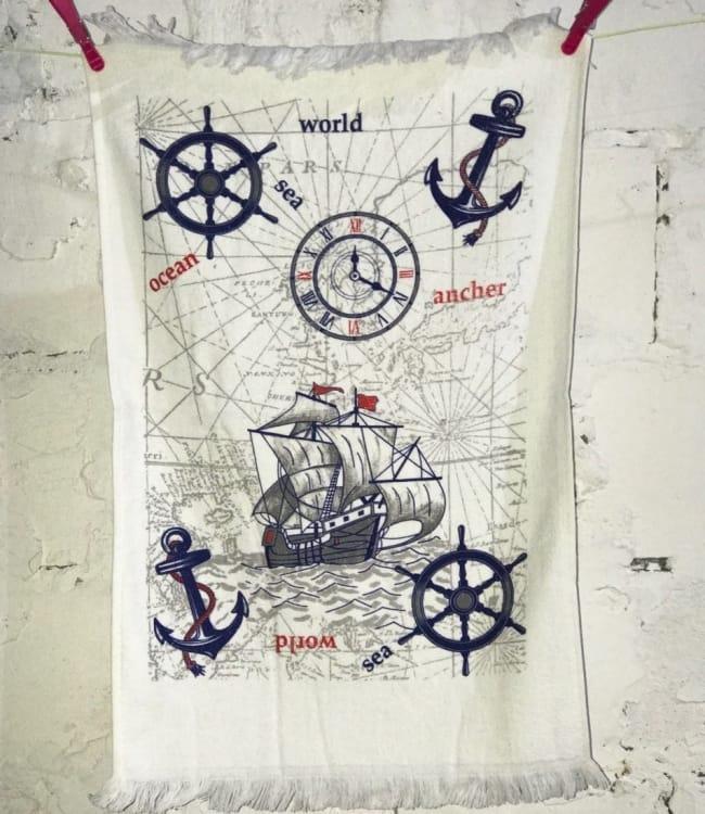 Рушник для кухні Melih Sea World 40*60 см бавовняне арт.ts-01380