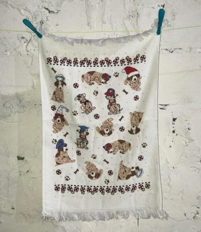 Рушник для кухні Melih Small Dogs 40*60 см бавовняне арт.ts-01367