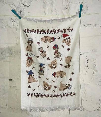 Полотенце для кухни Melih Small Dogs 40*60 см хлопковое арт.ts-01367, фото 2