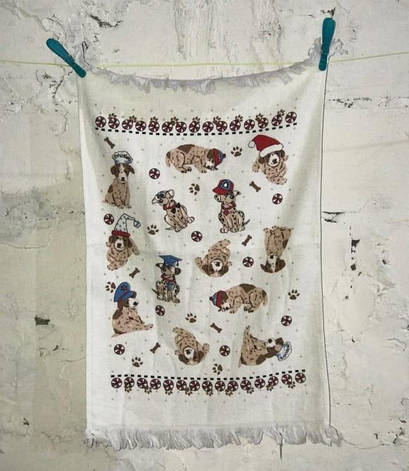 Рушник для кухні Melih Small Dogs 40*60 см бавовняне арт.ts-01367, фото 2