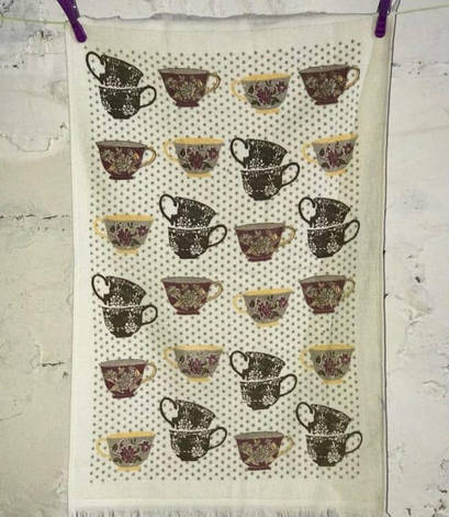 Полотенце для кухни Melih Сups 40*60 см хлопковое арт.ts-01375, фото 2