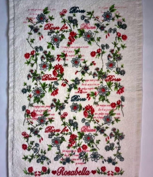 Рушник для кухні Melih Rosabella for Braian 30*50 см бавовняне арт.ts-01616