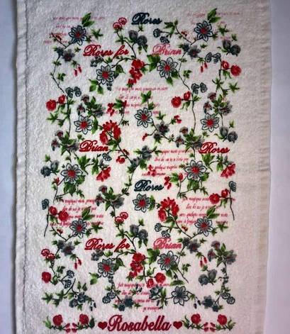 Рушник для кухні Melih Rosabella for Braian 30*50 см бавовняне арт.ts-01616, фото 2