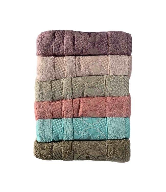 Набор полотенец для лица Miss Cotton Bamboo Celena 50*90 см бамбук банные 6шт арт.ts-6001101