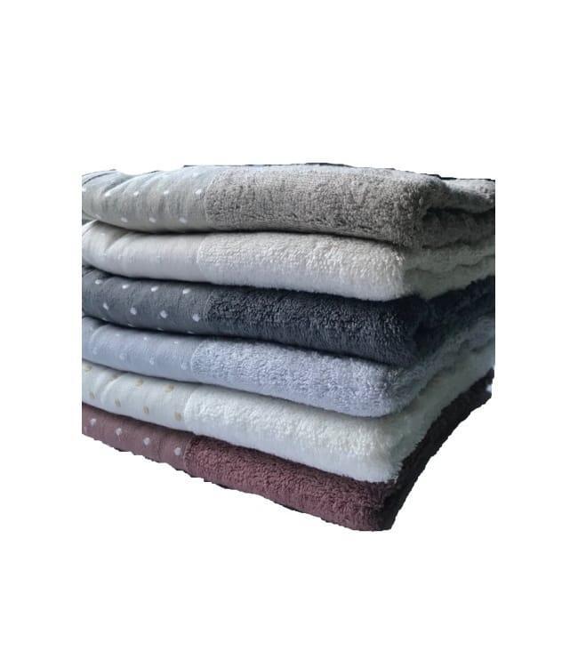 Набор полотенец для лица Miss Cotton Bamboo Pirlanta 50*90 см бамбук банные 6шт арт.ts-01678
