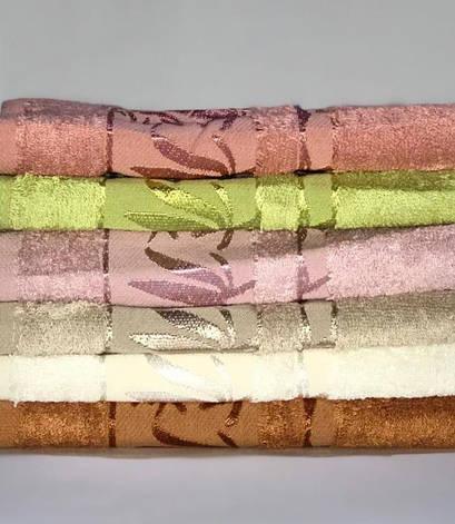 Набор полотенец для лица Miss Cotton Bamboo De Lux 70*140 см бамбук банные 6шт арт.ts-01494, фото 2
