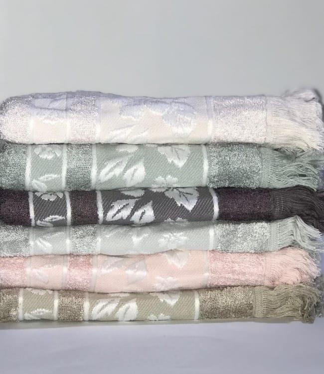 Набір рушників для особи Miss Cotton Bamboo Jasmin 70*140 см бамбук банні 6шт арт.ts-01492