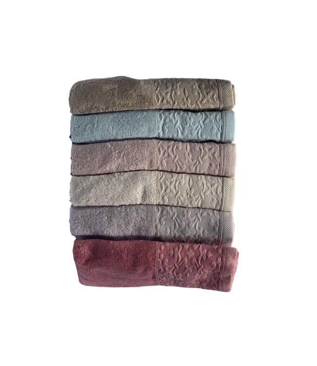 Набор полотенец для лица Miss Cotton Bamboo Nazende 70*140 см бамбук банные 6шт арт.ts-6001297