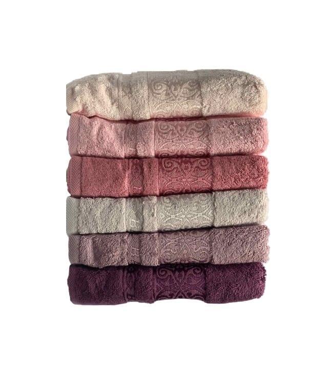 Набор полотенец для лица Miss Cotton Bamboo Sarmasik 70*140 см бамбук банные 6шт арт.ts-6001114