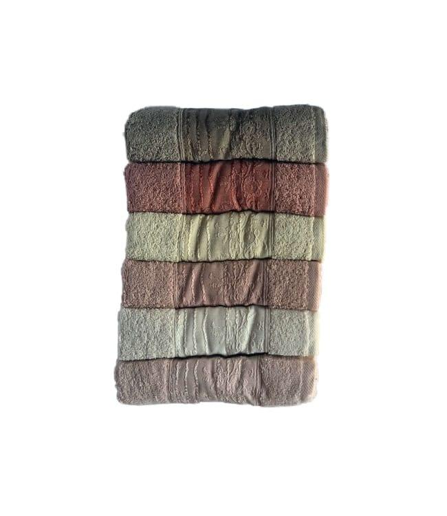 Набір рушників для особи Miss Cotton Bahar 50*90 см махрові банні 6шт арт.ts-6001125
