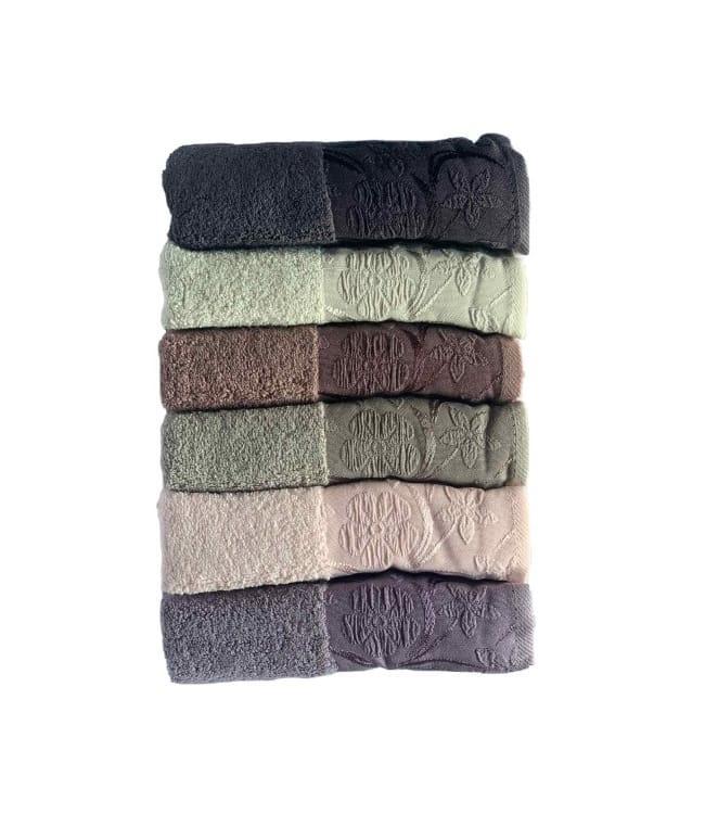 Набір рушників для особи Miss Cotton Daisy 50*90 см махрові банні 6шт арт.ts-6001474