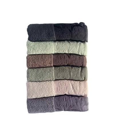 Набір рушників для особи Miss Cotton Daisy 50*90 см махрові банні 6шт арт.ts-6001474, фото 2