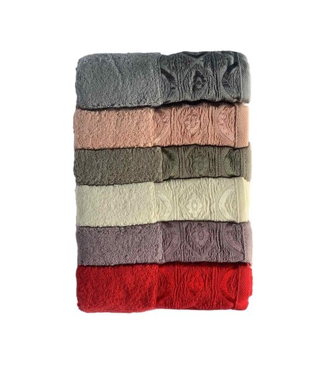 Набір рушників для особи Miss Cotton Domino 50*90 см махрові банні 6шт арт.ts-6001302