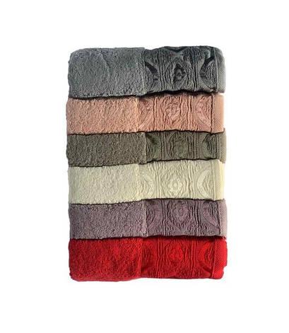 Набір рушників для особи Miss Cotton Domino 50*90 см махрові банні 6шт арт.ts-6001302, фото 2