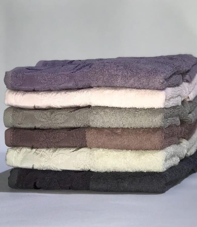 Набор полотенец для лица Miss Cotton Лилия 50*90 см махровые банные 6шт арт.ts-01533