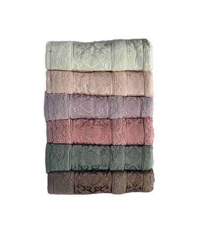 Набір рушників для особи Miss Cotton Pirizma 70*140 см махрові банні 6шт арт.ts-6001307, фото 2