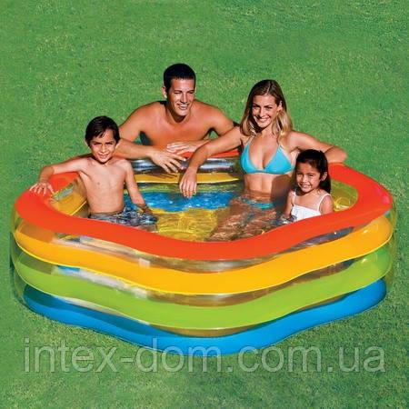 """Дитячий надувний басейн Intex 56495 """"Морська зірка"""""""