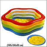"""Дитячий надувний басейн Intex 56495 """"Морська зірка"""", фото 2"""