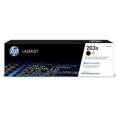 Картридж HP CLJ  203X Black 3.2K (CF540X)