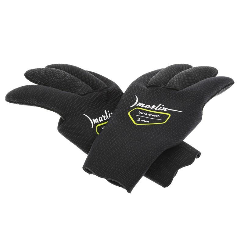 Перчатки Marlin Ultrastretch Black 3 мм (L)