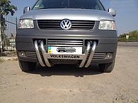 Защита переднего бампера (кенгурятник) Volkswagen T5 (2003-2010)