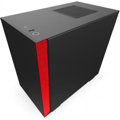Корпус NZXT H210 Black/Red (CA-H210B-BR)