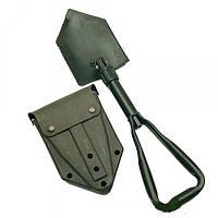 Складная сапёрная лопата с пластиковым чехлом MilTec TSR Olive 15520100
