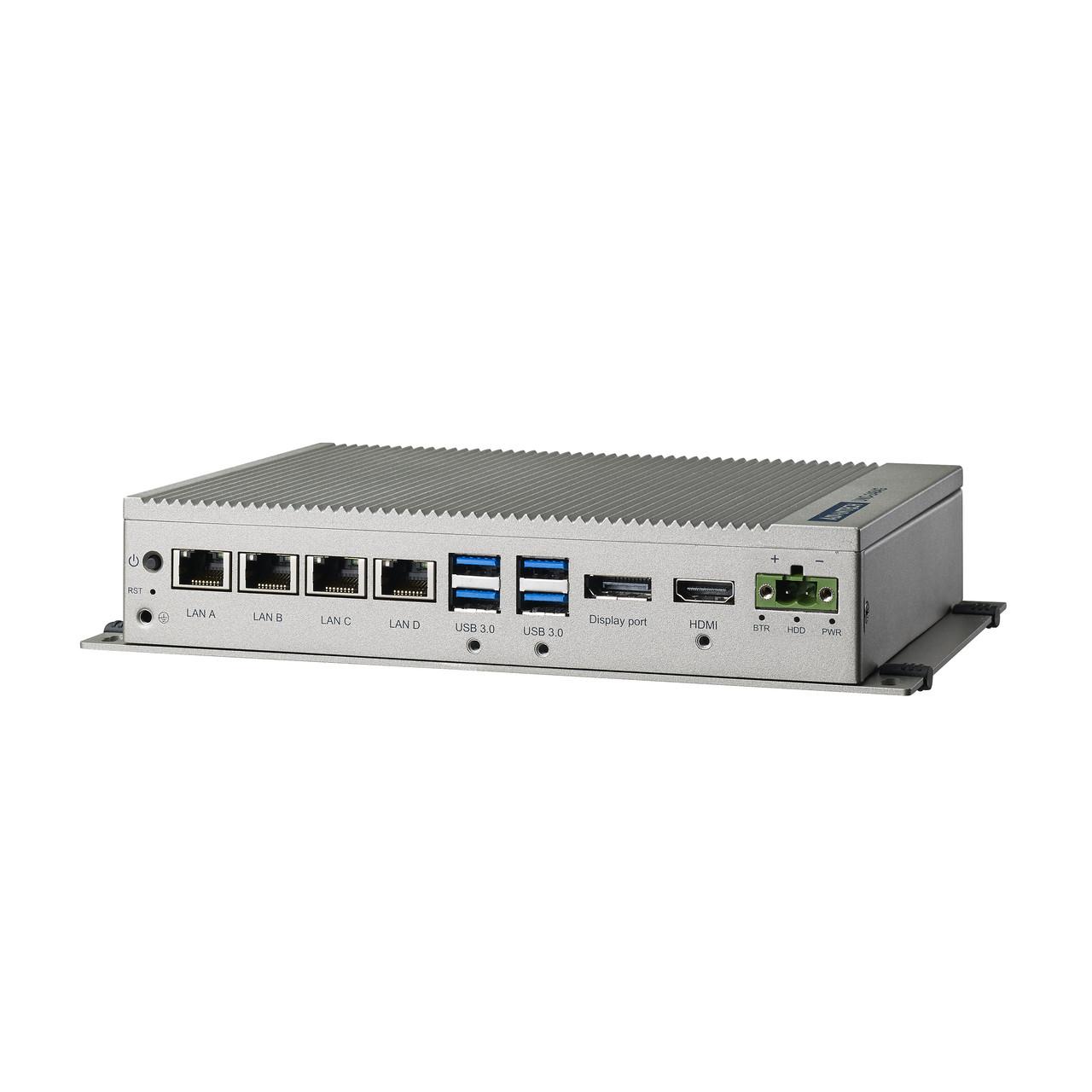 Промышленный компьютер Intel Core i3-6100U 2.3ГГц, 8ГБ DDR4, HDMI, DP, 4x LAN, 4x COM, 4x USB3.0, 1 x mPCIe