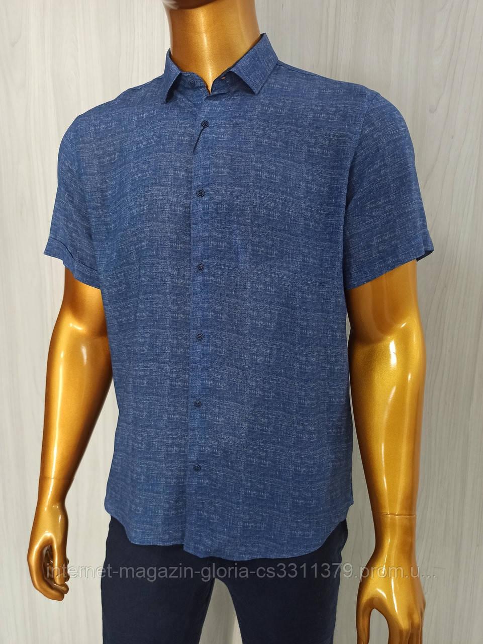 Мужская рубашка FLP. mod.46890. Размеры: M,L,XL,2XL.