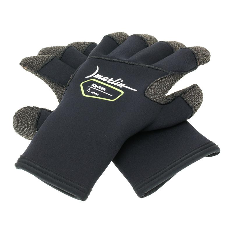 Перчатки Marlin Kevtex Black 3 мм (S)
