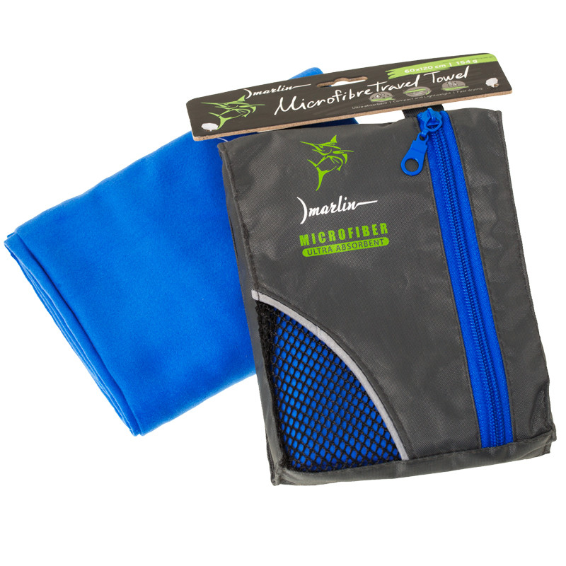 Полотенце Marlin Microfiber Travel Towel Royale Blue (40х80)