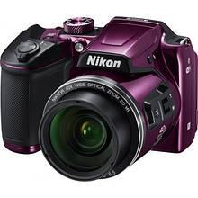 Цифровий фотоапарат Nikon Coolpix B500 Purple (VNA952E1)