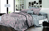 """Комплект постельного белья двуспальный ТМ """"Ловец снов"""", Цветочный мотив, фото 2"""