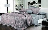 """Комплект постельного белья из ранфорса ТМ """"Ловец снов"""", Цветочный мотив, фото 2"""