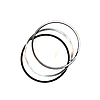 Кольца поршневые черно - белые Евро - 3 / ОАО КамАЗ