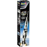 Сборная модель Revell Ракета-носитель СатурнV миссии Аполлон 11 уровень 5, 1:96 (RVL-03704)