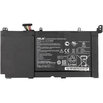 Аккумулятор для ноутбука ASUS VivoBook S551L (A42-S551) 11.4V 4400mAh (NB430765)